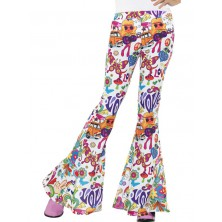 Kalhoty Hippie, dámské barevné