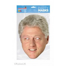 Papírová maska Bill Clinton