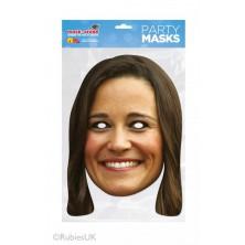 Papírová maska Pippa Middleton
