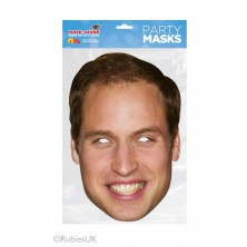 Papírová maska Princ William