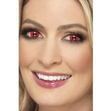 Oční čočky Čert