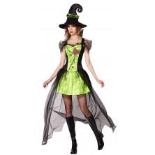 Kostým zelená Čarodějnice