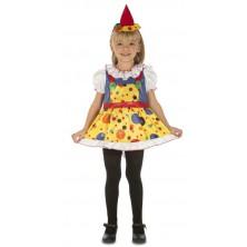 Klaunské šaty s kloboučkem