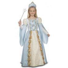 Dětský kostým Modrá princezna