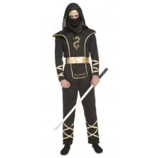 Kostým Černý Ninja pánský