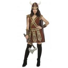 Kostým Viking žena