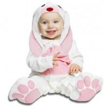 Dětský kostým Růžový králíček