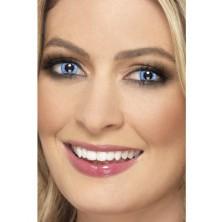 Oční čočky Natural modré