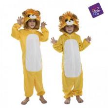 Dětský kostým huňatý lev