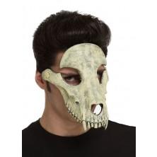 Obličejová maska Zvířecí lebka