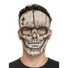 Obličejová maska Lebka