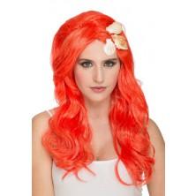 Paruka Mořská víla oranžová