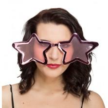 Brýle Velké růžové hvězdy