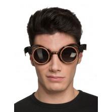 Brýle Steampunk černé