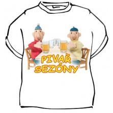 Tričko Pat a Mat Pivař sezony