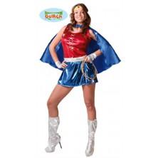 kostým supermanka
