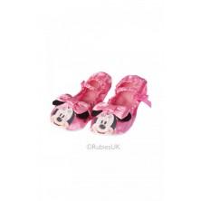 Balerínky Minnie Mouse růžové