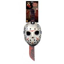 Maska a mačeta Jason