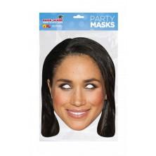 Papírová maska Meghan Markle
