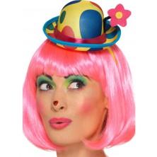 Klaunský mini klobouk