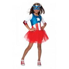 Dětský karnevalový kostým Captain America