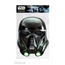 Papírová maska Darth Trooper