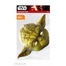 Papírová maska Yoda