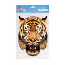 Papírová maska Tygr
