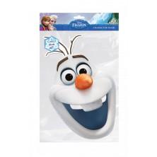 Papírová maska Sněhulák Olaf