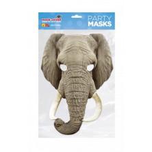 Papírová maska Slon