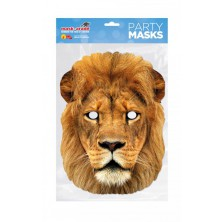 Papírová maska Lev