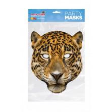 Papírová maska Leopard
