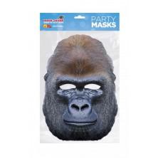 Papírová maska Gorila