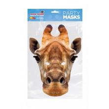 Papírová maska Žirafa