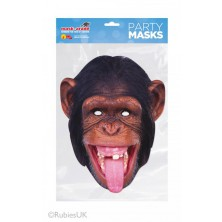 Papírová maska Šimpanz