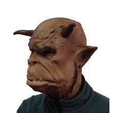 Maska čert Belzeblb