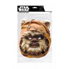 Papírová maska Ewok