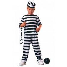 Karnevalový dětský kostým Vězeň