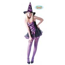 Kostým Sexy Čarodějnice Lila