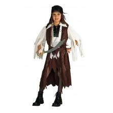 Dětský kostým Pirátka pro děti