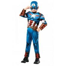 Dětský kostým Captain America deluxe