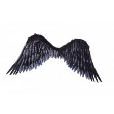 Křídla černá, péřová
