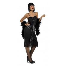 Kostým Charleston černý