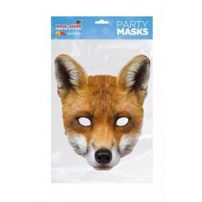 Papírová maska Liška