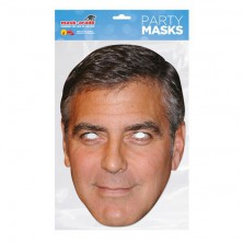 Papírová maska George Clooney