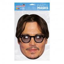 Papírová maska Jonny Depp