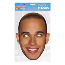 Papírová maska Lewis Hamilton