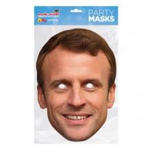 Papírová maska Emmanuel Macron