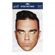 Papírová maska Robbie Williams