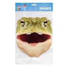 Papírová maska Ropucha